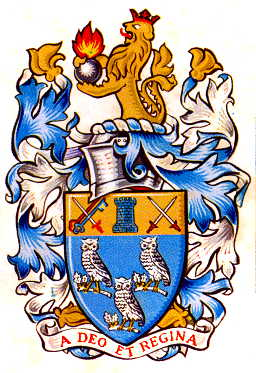 frimley and camberley udc arms